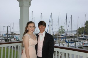 Off the water and ready for prom!